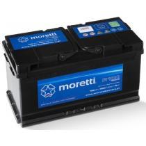 Automobilová batéria Moretti Premium 100AH / 900A / P +