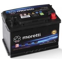 Automobilová batéria Moretti Premium 74Ah / 680A / P +