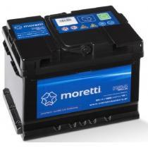 Automobilová batéria Moretti Regular 54AH / 480A / P +