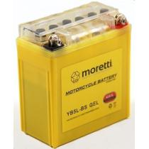 Bezúdržbová gélová batéria Moretti YB5L-BS