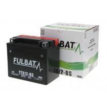 Bezúdržbová motocyklová batérie Fulbat YTX12-BS, 12V 10Ah