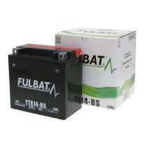 Bezúdržbová motocyklová batérie Fulbat YTX14-BS, 12V 12Ah