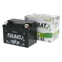 Bezúdržbová motocyklová batérie Fulbat YTX4L-BS, 12V 3Ah