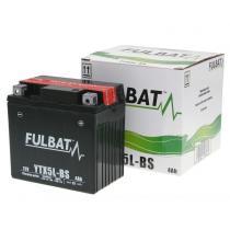 Bezúdržbová motocyklová batérie Fulbat YTX5L-BS, 12V 4Ah