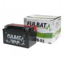 Bezúdržbová motocyklová batérie Fulbat YTX7A-BS, 12V 6Ah