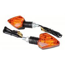 Smerovky na moto R-TECH Light krátka stopka