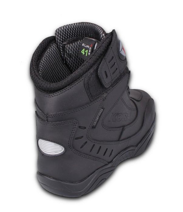fa73585178f8 ... Topánky na motocykel Kore Velcro čierne