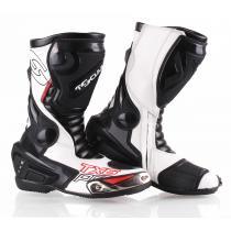 b2f4573993 Vysoké čižmy na motocykel Tschul TX6-Pro čierno-biele