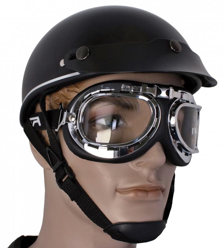7eefee665 Okuliare na motocykel RSA Style chróm Okuliare na motocykel RSA Style chróm