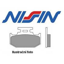 Brzdové doštičky predné Nissin 2p256 NS