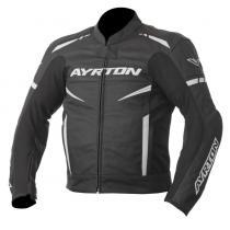 Bunda na motorku Ayrton Raptor čierno-biela