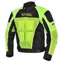 Bunda na motocykel RSA Guff čierno-fluorescenčno-žltá b62644c473c