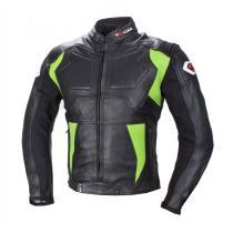 Bunda na motorku Tschul 850 čierno-zelená