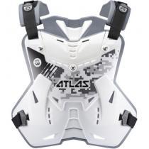 Chránič hrudi a chrbta Defender Digital Arctic, ATLAS detský (biely, Vel.UNI)