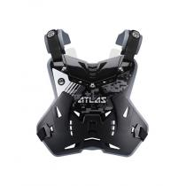 Chránič hrudi a chrbta Defender Digital Stealth, ATLAS detský (čierny, Veľ. UNI)