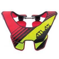 Chránič krčnej chrbtice Air Radioactive, ATLAS (fluo / červená)