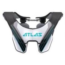 Chránič krčnej chrbtice Carbon Deluxe, ATLAS (biela / carbon)
