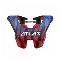 Chránič krčnej chrbtice Tyke beast, ATLAS detský (modrá / červená, Veľ. UNI)