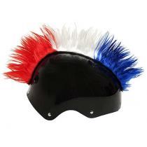 Číro na helmu Wiggystyle červeno / bielo / modré