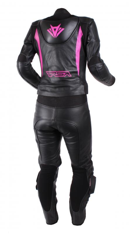 a2058c62a14b ... Dámska kombinéza na motocykel RSA Destiny 2 čierno-ružová vypredaj ...