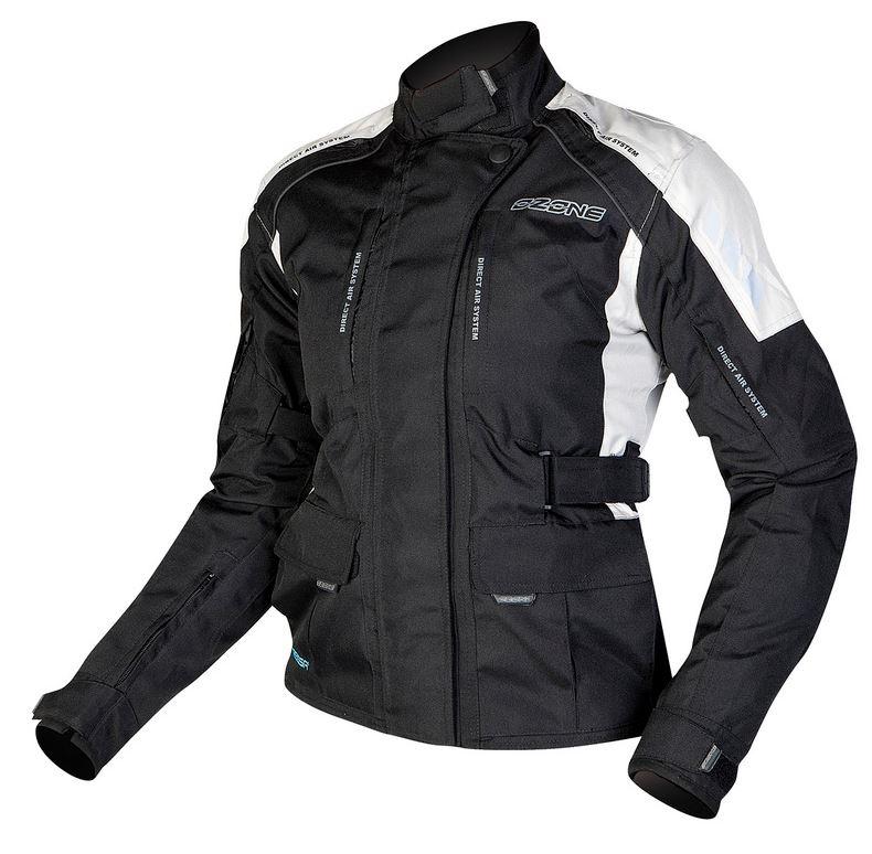 a3f5456774a24 Dámska moto bunda Ozone Tour čierno-šedá výpredaj | Motozem.sk