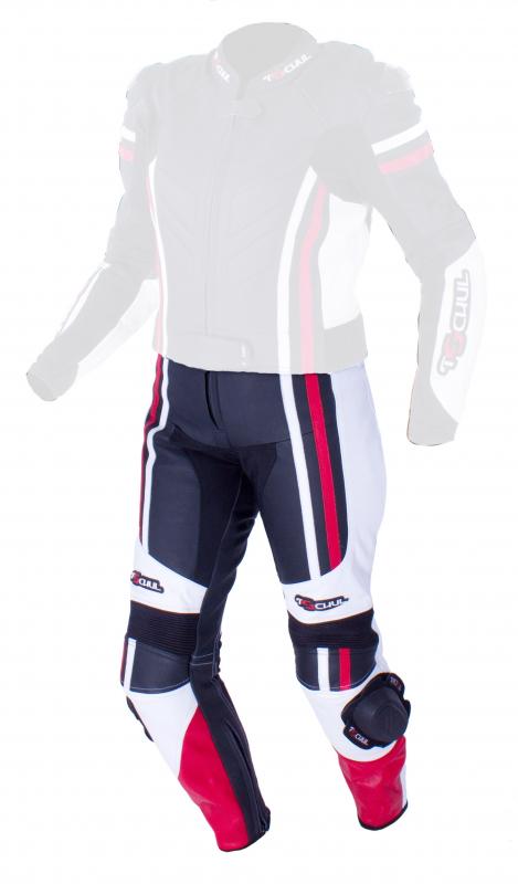 eaf4e20fe274 Dámske nohavice Tschul 556 čierno-bielo-červené vypredaj
