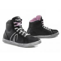 Dámske moto topánky Forma Slam Dry čierno / biele
