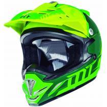 Detská motokrosová prilba na motorku MT MX-2 Spec fluo zeleno-žltá