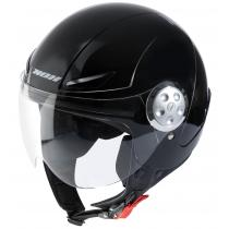 Detská prilba na motorku otvorená NOX N216 čierna