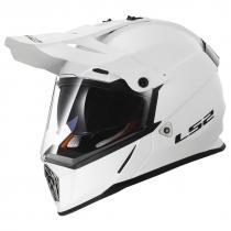 Enduro prilba LS2 MX436 Pioneer biela