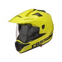 Enduro prilba na motorku Cassida Tour fluo žltá