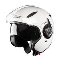 Helma na skúter otvorená Nox N180 Next biela