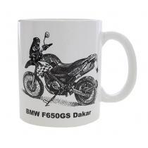 Hrnček s potlačou BMW F650GS Dakar