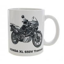Hrnček s potlačou Honda XL 650V Transalp