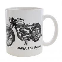 Hrnček s potlačou Jawa 250 Pérák