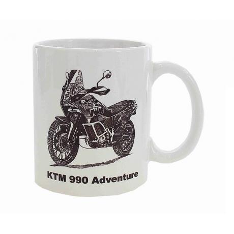 Hrnček s potlačou KTM 990 Adventure