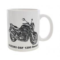 Hrnček s potlačou Suzuki GSF 1200 Bandit