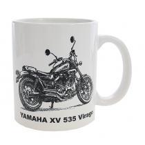 Hrnček s potlačou YAMAHA XV 535 Virago