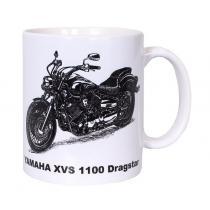 Hrnček s potlačou Yamaha XVS 1100 DRAGSTAR