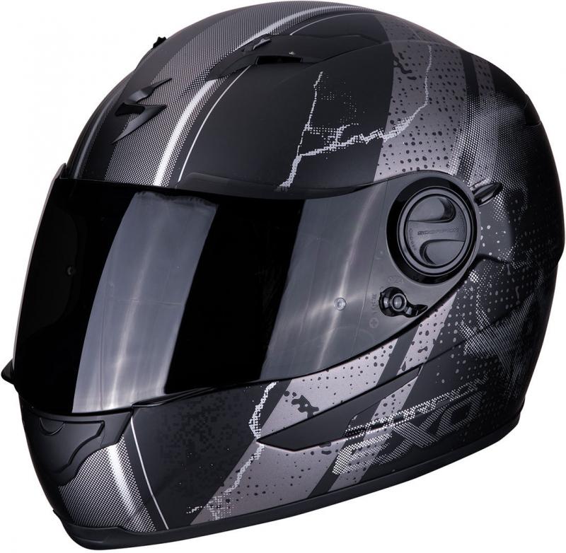 635402eaae842 Integrálna prilba Scorpion EXO-490 Dar čierno-strieborná   Motozem.sk