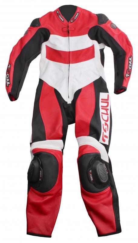 cb3a1aa42cd9 Jednodielna kombinéza Tschul Race čierno-červeno-biela výpredaj vypredaj