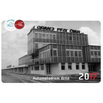 Kalendár 30 rokov Automotodrom Brno 2017