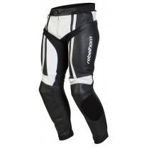 Nohavice na motorku Rebelhorn Piston II čierno / biele