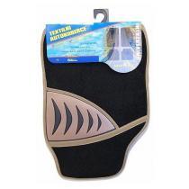 Koberce textilné SHARK 4ks béžové