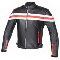 0d0bebdefd91 Kožená bunda na motorku RSA Lines výpredaj