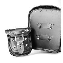 Kožená kapsička pre kufor na motorku RSA-1B