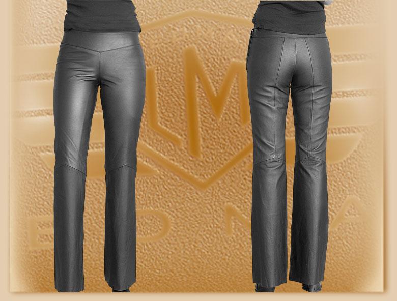 29d7ac4e17b0 Kožené bedrové moto nohavice Klasik - dámske výpredaj