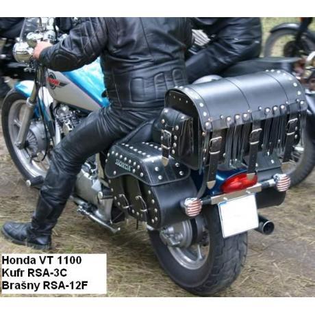 Kožené tašky na motocykel Chopper RSA-12F