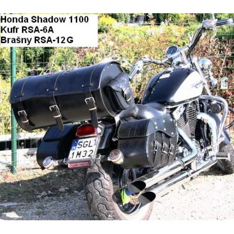 Kožené tašky na motocykel Chopper RSA-12G