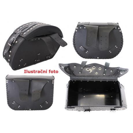 Kožené tašky na motocykel Chopper RSA-6D